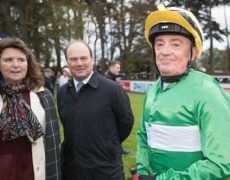 Paddy Woods before the last leg of the Corinthian Challenge Charity Race Series.